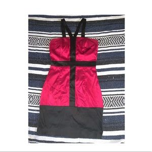 XOXO Red and Black Dress
